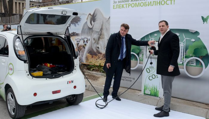 полначи за електрични автомобили