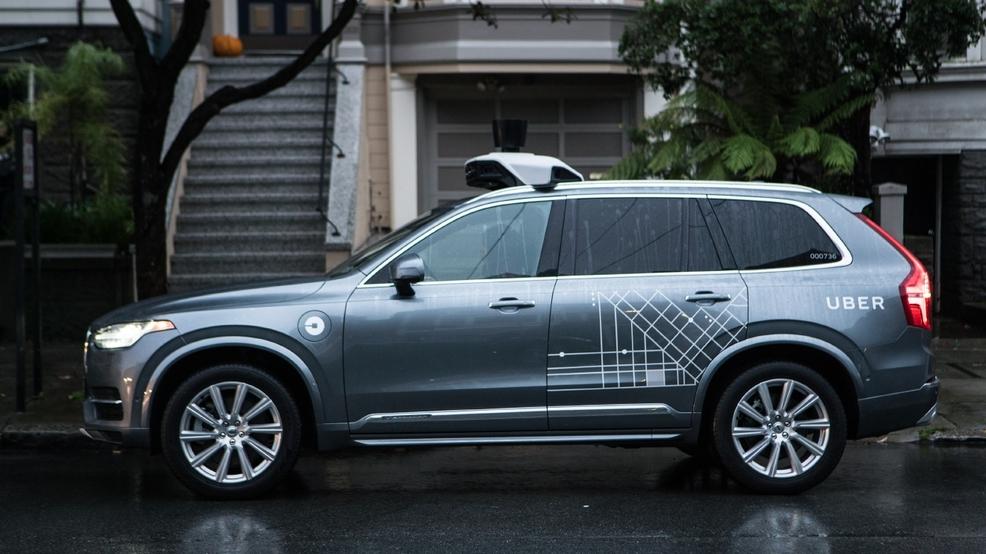 автономен автомобил убер uber