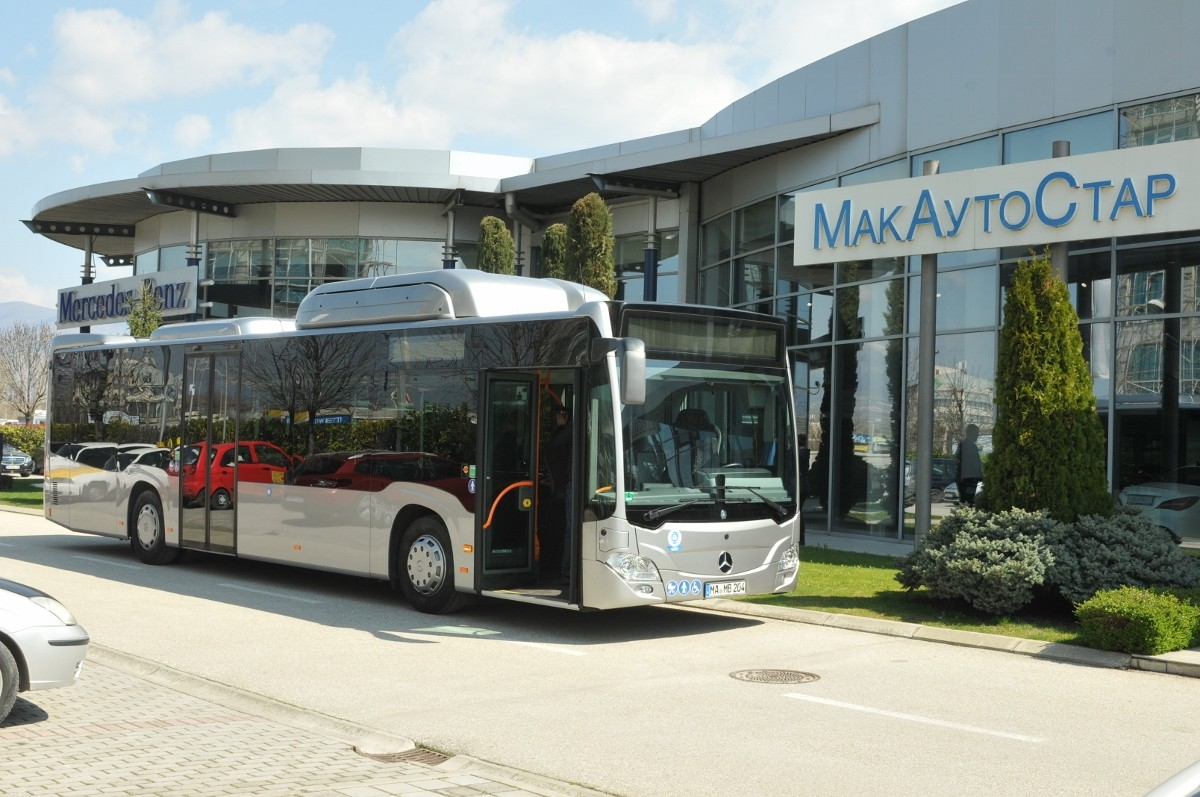 еко автобус