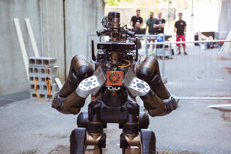 робот centauro